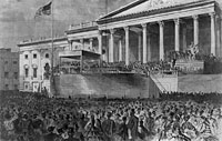 1861 Inauguration of President Lincoln