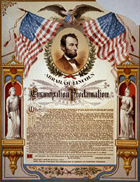 Abraham Lincoln and his Emancipation Proclamation