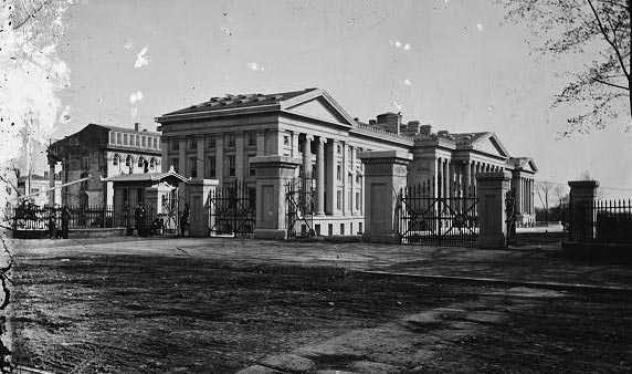 U.S. Treasury. Showing old Riggs Hotel, 15th and G. N. W.