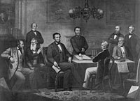 1864 Post-Election Cabinet Meeting