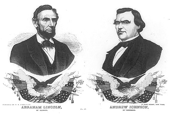 1864 Campaign Banner for the Republican Ticket