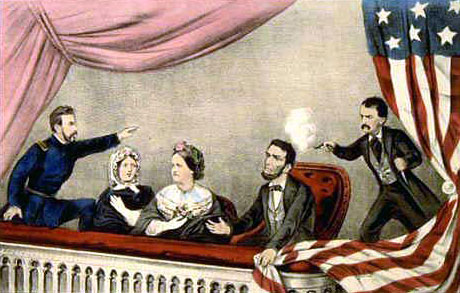 The Assassination of President Lincoln at Ford's Theatre