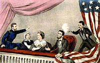 Assassination of President Lincoln at Ford's Theatre