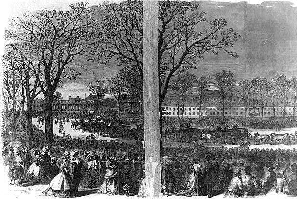 Funeral of President Lincoln at Washington, D.C.