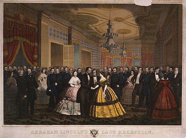 Abraham Lincoln's Last Reception