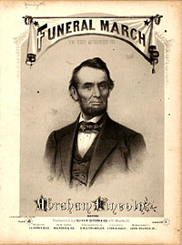 Funeral march to the memory of Abraham Lincoln, by Gaetano Donizetti