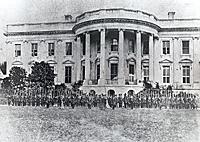 Cassius M. Clay Battalion Defending White House