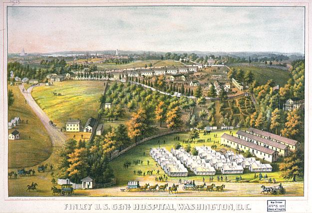 Finley U.S. General Hospital, Washington D.C.