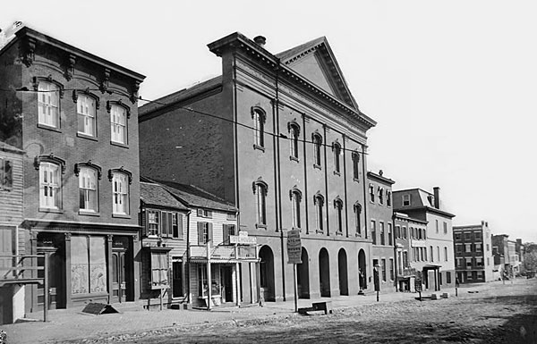Ford's Theatre. 10th St. Washington DC