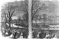 Funeral of President Lincoln, at Washington D.C.