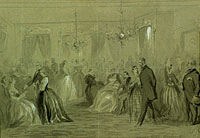 Ladies Parlour at Willard's Hotel