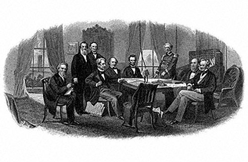 Abraham Lincoln and Cabinet