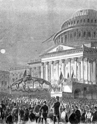 Great War Meeting at Capitol