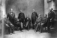 David Davis and Members of the Supreme Court