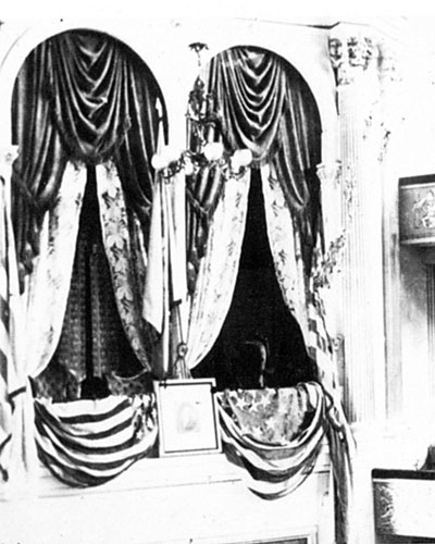 Lincoln's Box in Ford's Theater