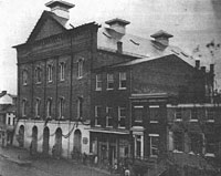 Ford's Theatre shortly after the assassination