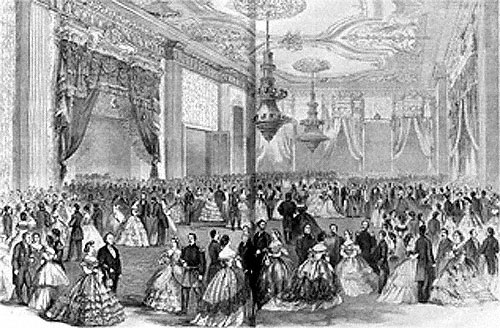 Grand Presidential Party on February 5, 1862 in the East Room