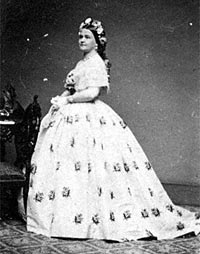 Peachy Family Mary Todd Lincoln 1818 1882 Mr Lincolns White House Hairstyle Inspiration Daily Dogsangcom