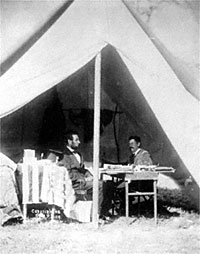 Abraham Lincoln and George B. McClellan