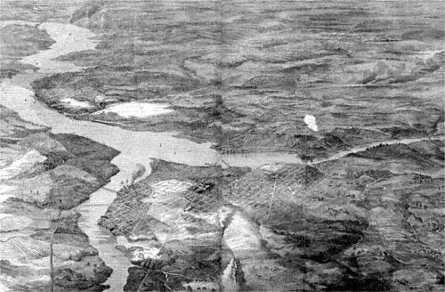 Birdseye View of Washington