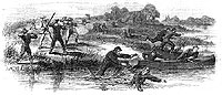 Rebel Barbarities-Virginian rebel farmers shooting unarmed union soldiers