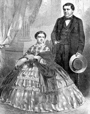 Prince Napoleon and Princess Clotide