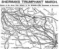 Sherman's Triumphant March