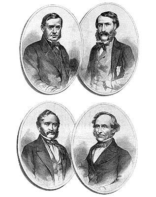 Four European Diplomats