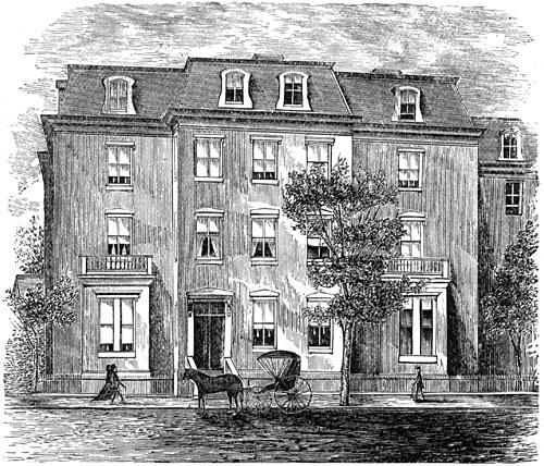 Charles Sumner's Residence