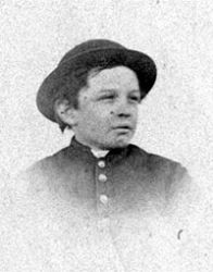 Thomas Lincoln as a kid