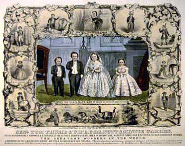 General Tom Thumb and Wife