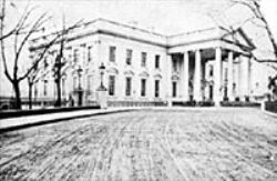 Looting/destruction of White House in 1864-65