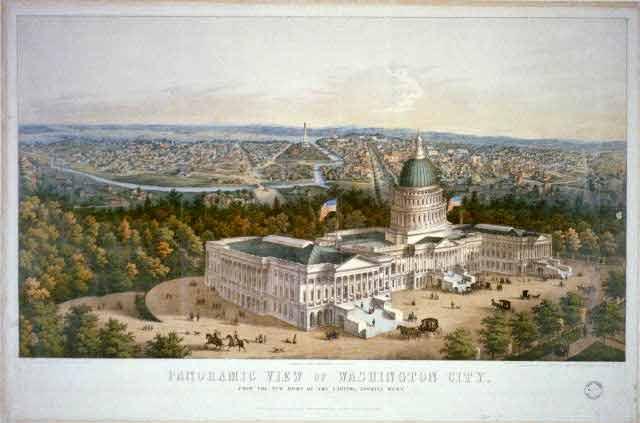 Panoramic View of Washington City