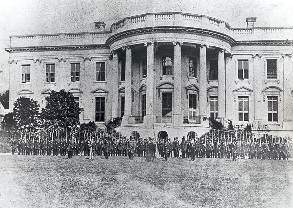 Cassius M. Clay Battalion Defending White House