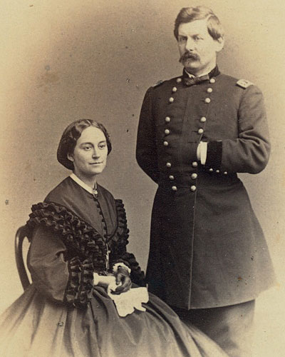 George B. McClellan and his wife Ellen Mary Marcy