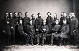 Nathaniel Banks and Staff