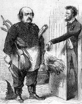 Benjamin Butler and Abraham Lincoln
