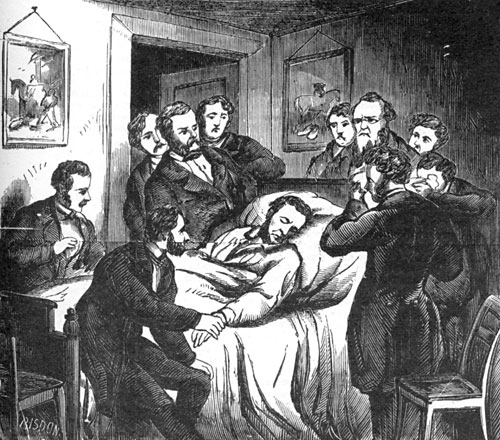 Scene at the Deathbed of Lincoln