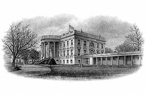 White House, North Portico